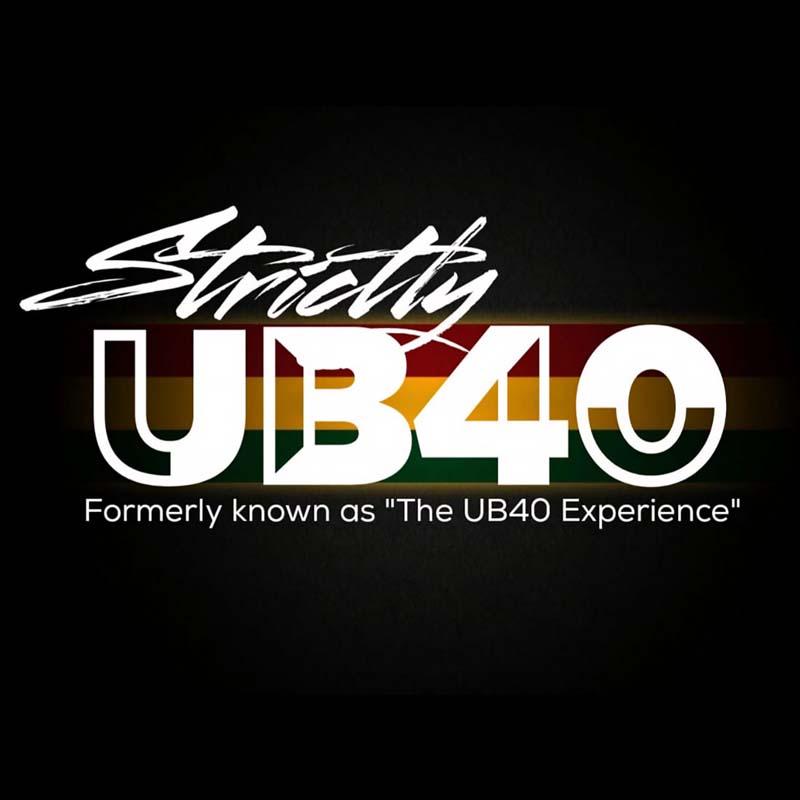 strictly UB40 logo